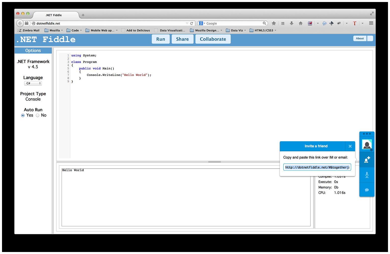 Mozilla Labs : TogetherJS